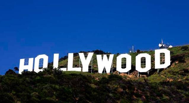 origen del letrero de Hollywood