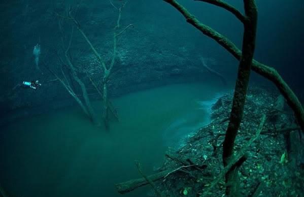 rio debajo del mar