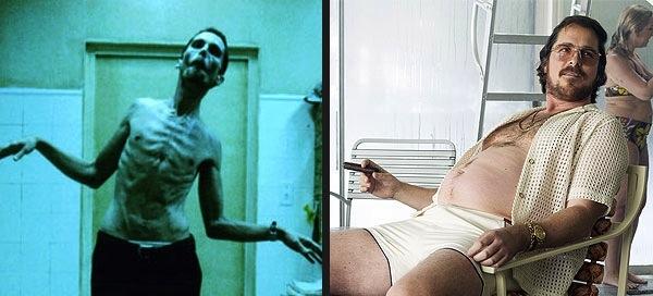 Cambio peso Christian Bale