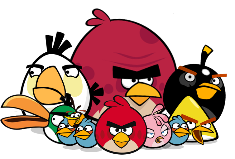 angry birds personajes