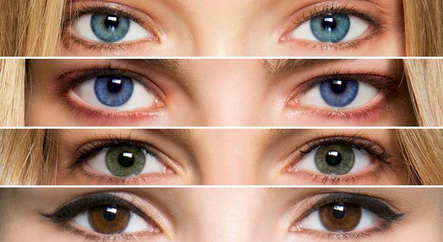 color ojos